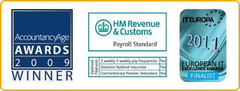 Accountancy age awards 2009 winner - hm revenue &amp; customs payroll standard - it europa 2011 european it excellence awards finalist