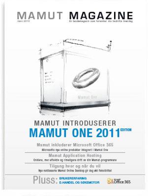 Mamut Magazine er et kundemagasin med fokus p� � forenkle hverdagen. Her vil du finne artikler om dagsaktuelle temaer, produktnyheter, brukertips og annen nyttig informasjon.