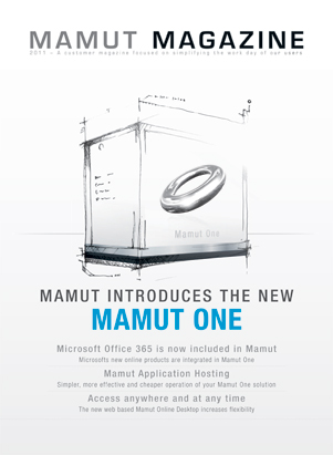 The Mamut Magazine is a customer magazine focusing on simplifying your work day. Here you will find articles about current themes and product news, as well as user tips.