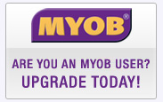 MYOB customer?