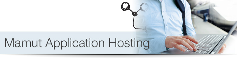 Mamut Application Hosting er en tjeneste for Mamut One-kunder, hvor Mamut Business Software og Microsoft Office drives og vedligeholdes af Mamut p� en central platform.