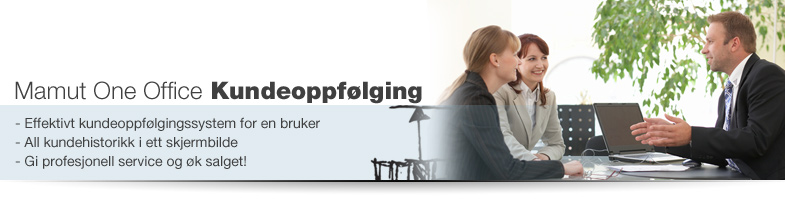 Effektivt CRM-system / Kundeoppflging