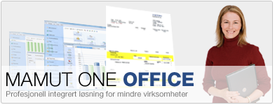 Mamut Office - profesjonell integrert lsning for mindre virksomheter
