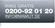 Ring gratis eller e-post