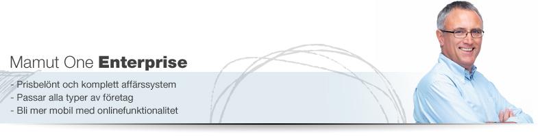 Aff�rssystem: Mamut One Enterprise �r en komplett och flexibel l�sning